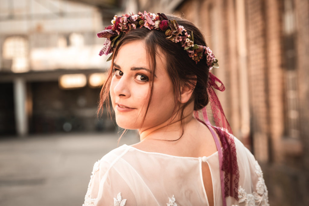 Urban Styled Shoot Modelportrait